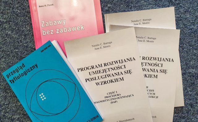 Publikacje tyflologiczne z 2019 r.