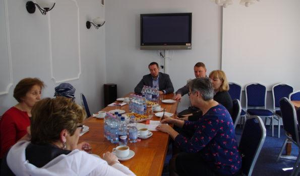 Wizyta delegacji z Litwy