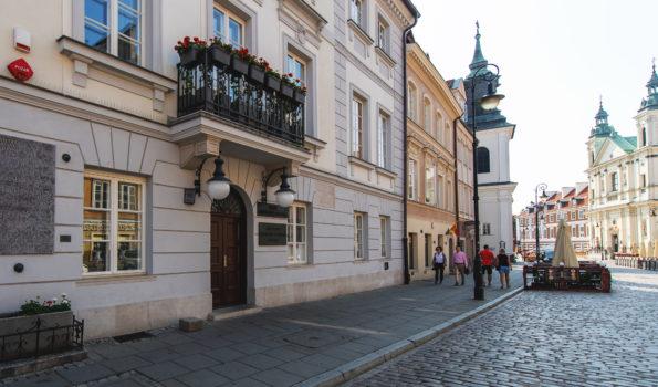 Budynek Muzeum M.Skłodowskiej-Cuire
