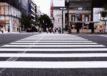 Przejście dla pieszych w mieście