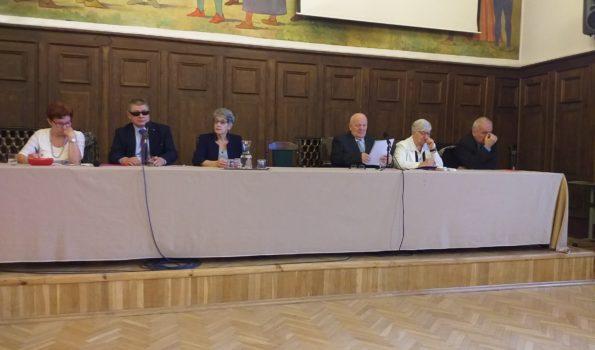 Uczestnicy Zjazdu Delegatów Okręgu Warmińsko-Mazurskiego podczas obrad