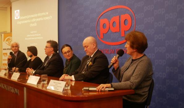 Centrum Prasowe PAP. Przemawia Małgorzata Pacholec
