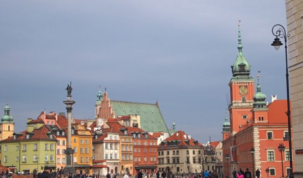 Zdjęcie. Stare miasto w Warszawie