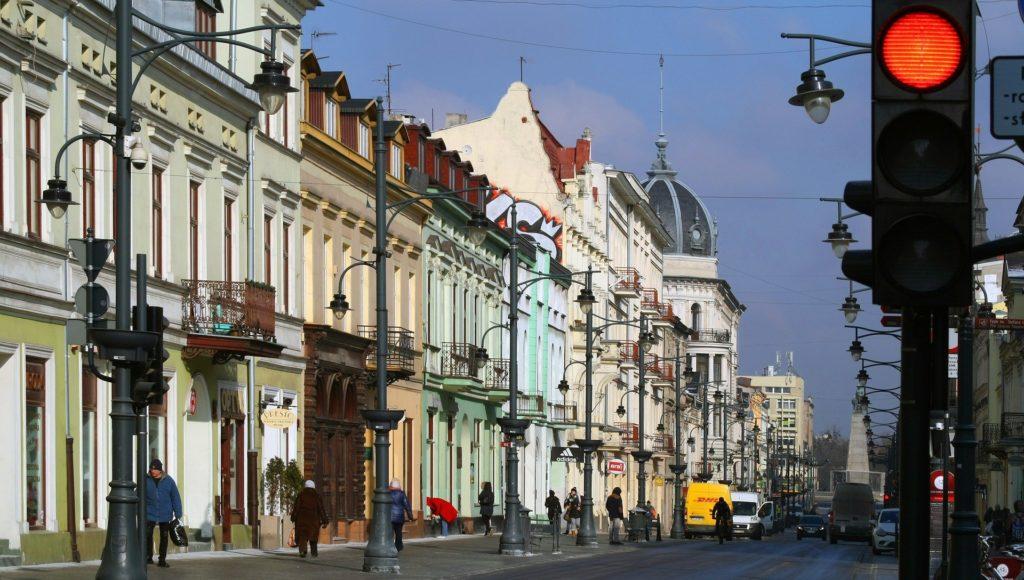 Kamienice w Łodzi