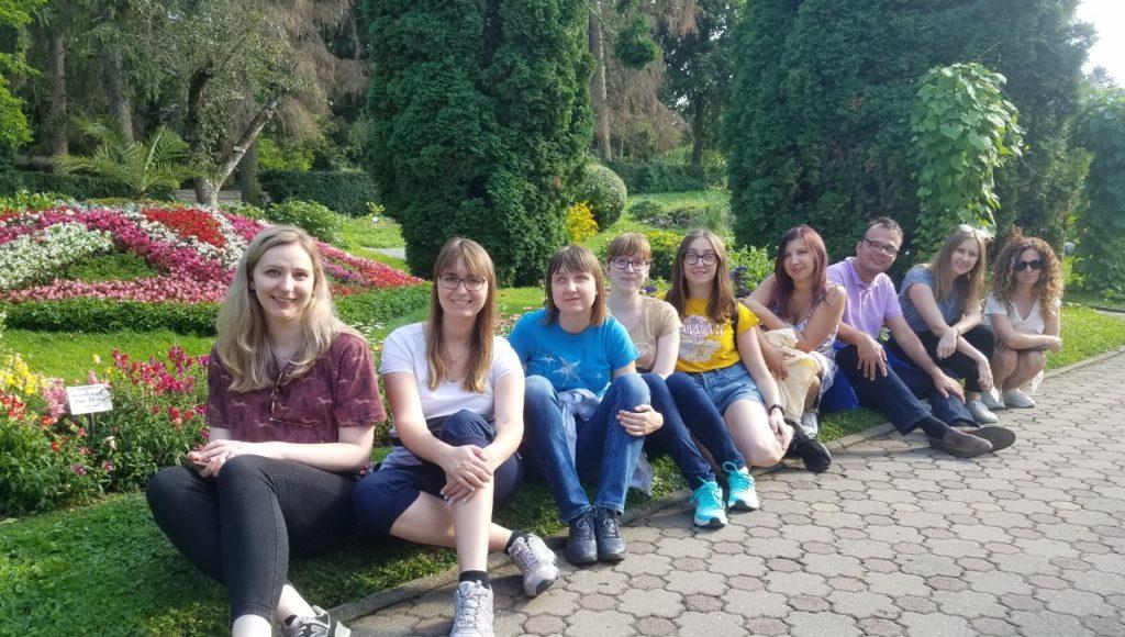 Grupa z Polski biorąca udział w projekcie